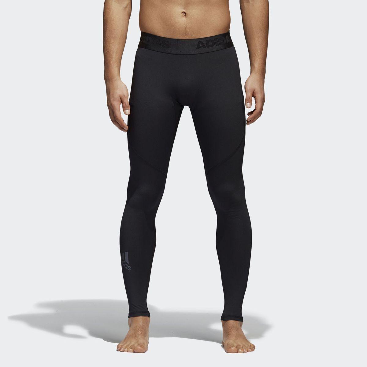 Collant Alphaskin Sport Long   Chaussette sport, Adidas noir