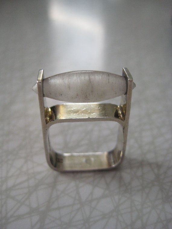 Swedish Modernist Sterling Silver And Quartz Crystal Scandinavian Jewelry Modernist Jewelry Modern Jewelry