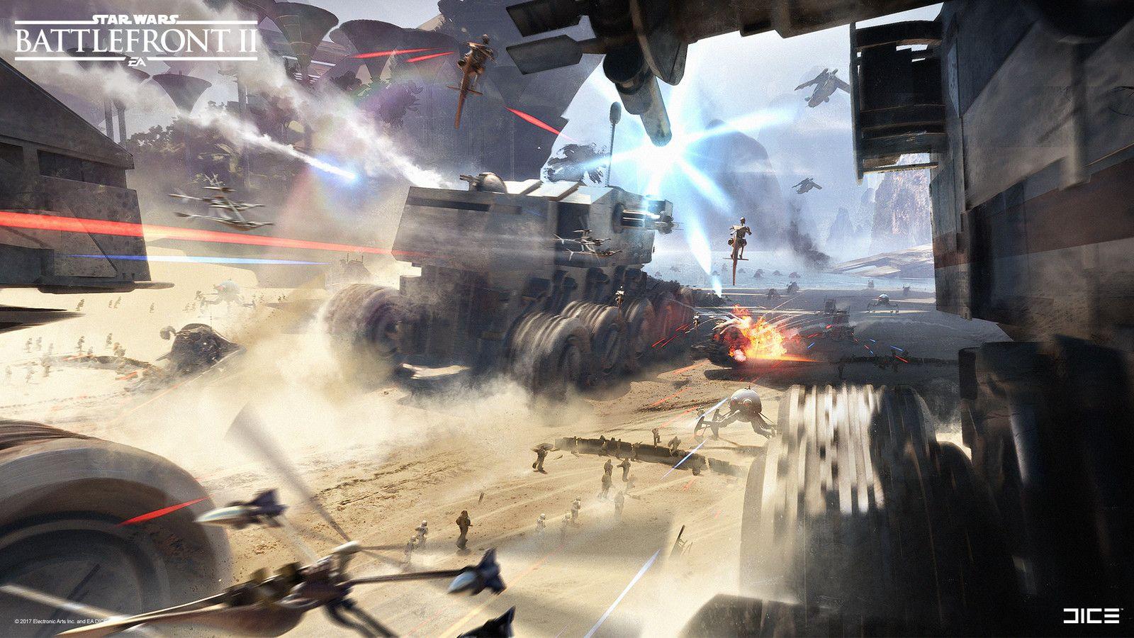 Battlefront 2 Early Concept Exploration Kashyyyk Anton Grandert On Artstation At Https Www Artstation Com Artw Star Wars Images Star Wars Ships Star Wars