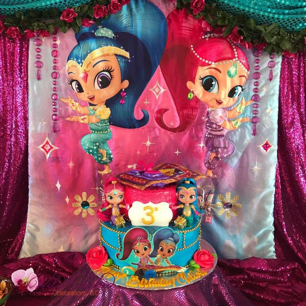 Ideas De Shimmer Y Shine Para Fiesta Birthdays Birthday Party