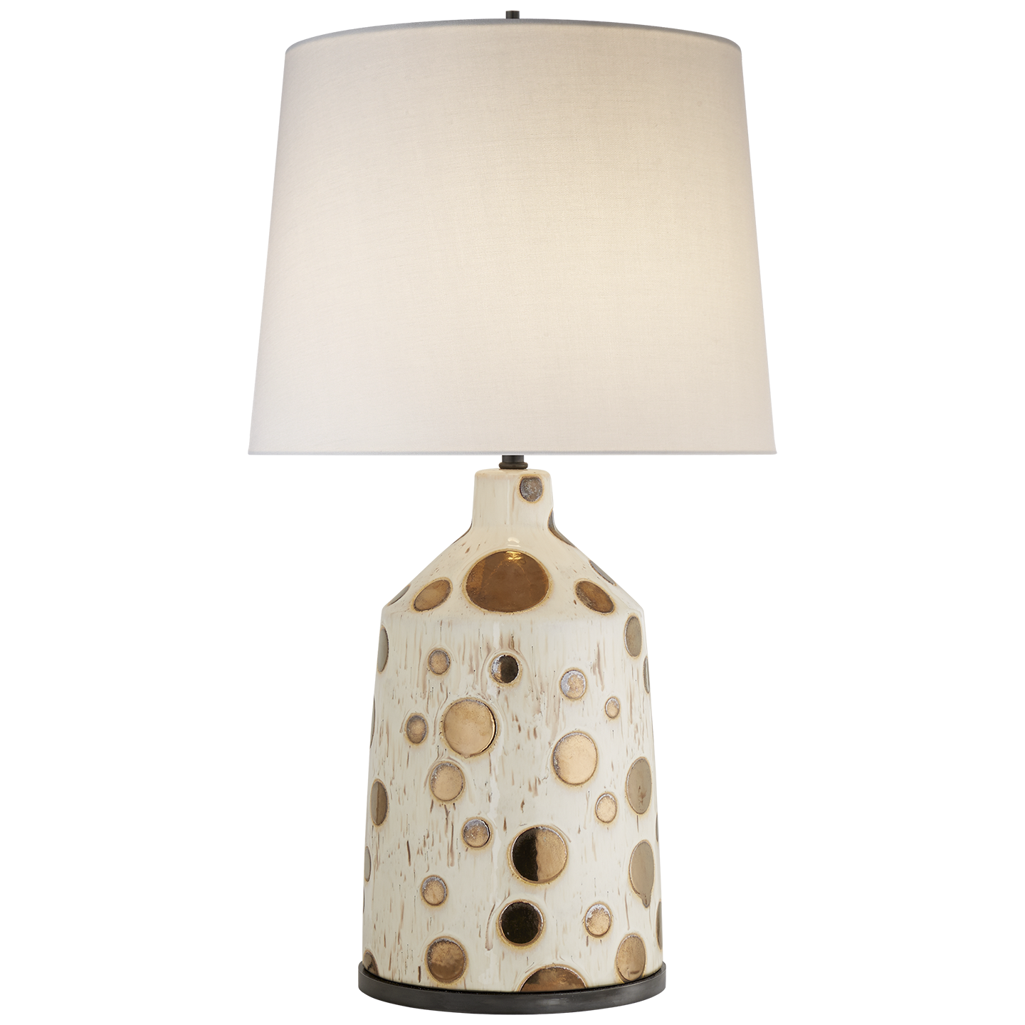 Bijou Table Lamp In Semi Matte Stone Grey And Dotty Anglia With  # Muebles Para Bijou