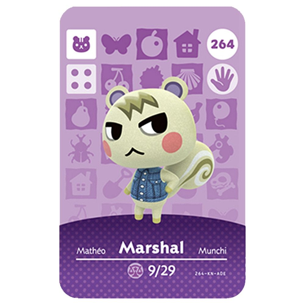 Amiibo Animal Crossing Card 264 Discount 36 Amiibo Animal Crossing In 2020 Animal Crossing Amiibo Cheap Games