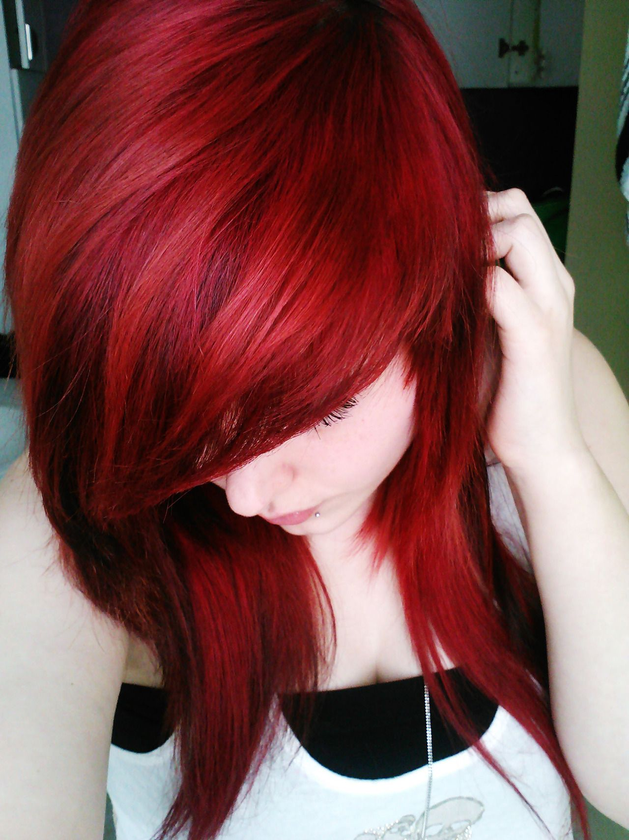 Manic Panic Red I Will Have This Color One Day And Once I Get It I Ll Never Let It Go Hair Color Pink Hair Red Hair Color