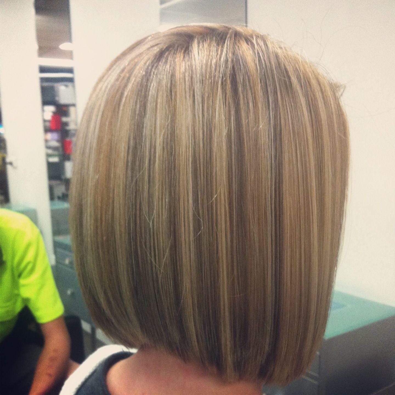 blonde restyle concave bob.   salon vogue hair   pinterest