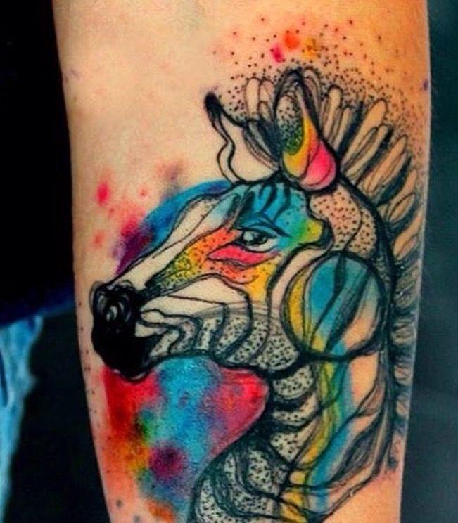 Zana Ni Zebra Tattoo