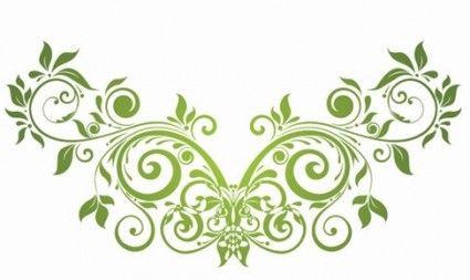Vector swirl floral design element diy projects pinterest vector swirl floral design element altavistaventures Images