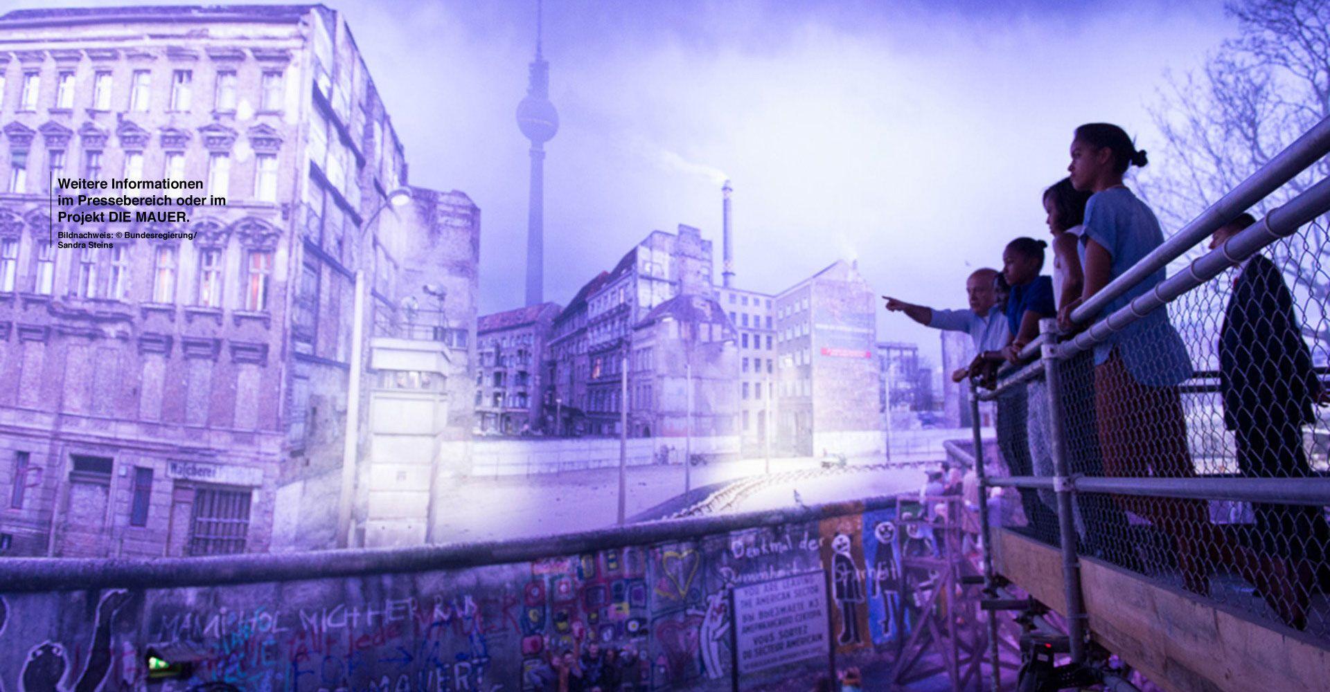 Ausstellung Berlin MAUERPanorama im asisi Panometer