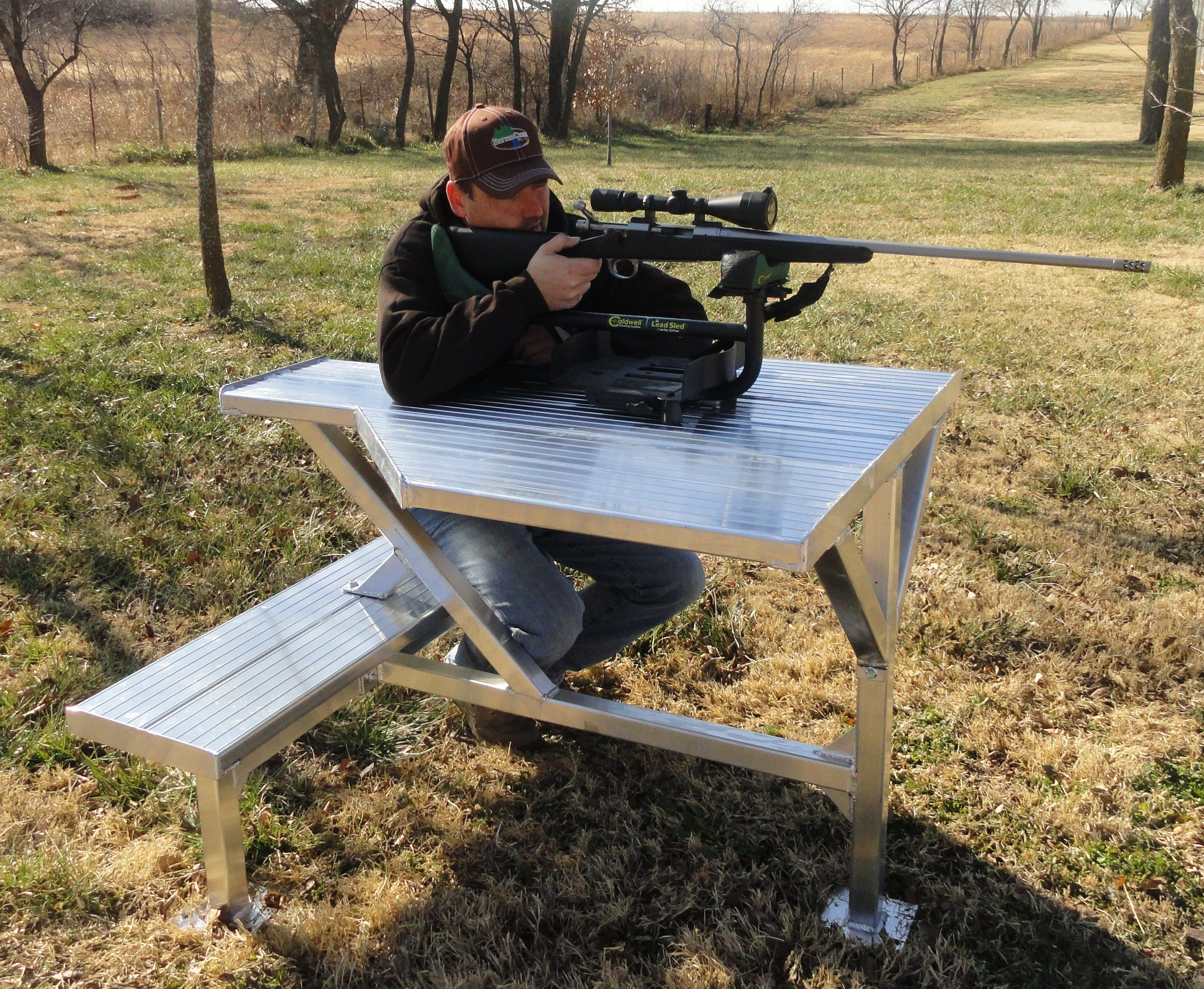 Bittercreek Portable 60 Shooting Bench Shooting And Shooting