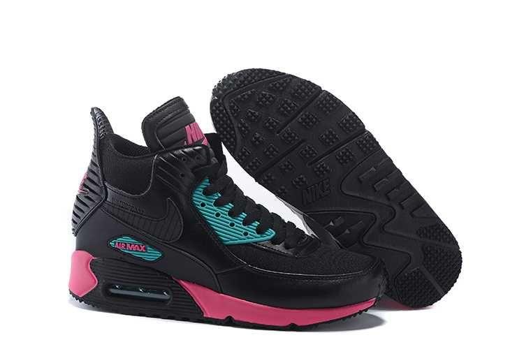 air max 90 rosa svart