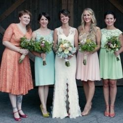 The most colorful, crafty, magical wedding we have ever seen. Photo by Kate Miss.