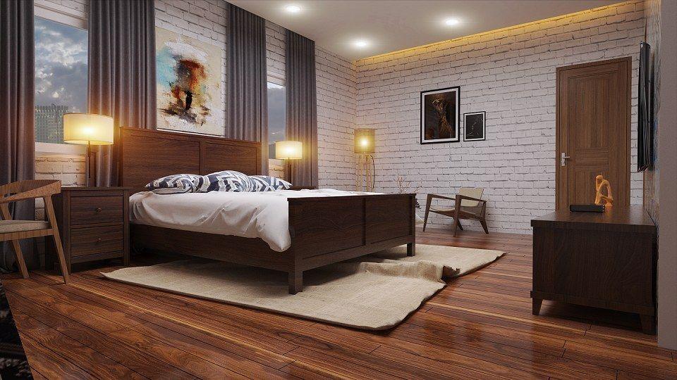 STYLE BEDROOM RETRO u0026 VISOPT vray