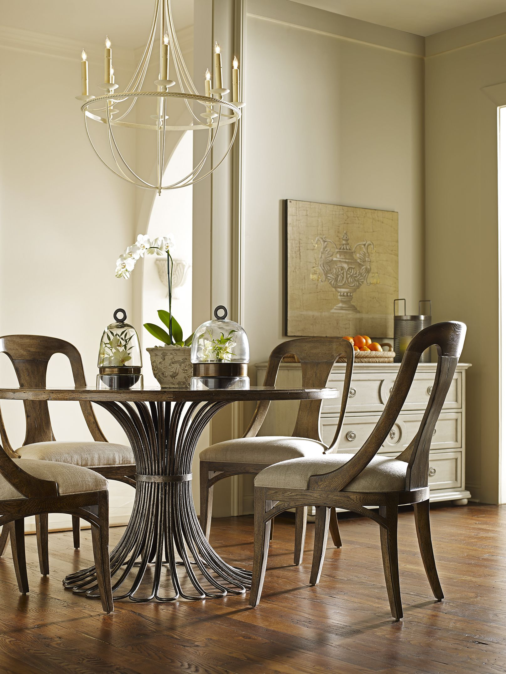 Parisian Dining Room Interesting Meridian Dining Table Gc0810 Parisian Side Chair Gc0300S Inspiration Design