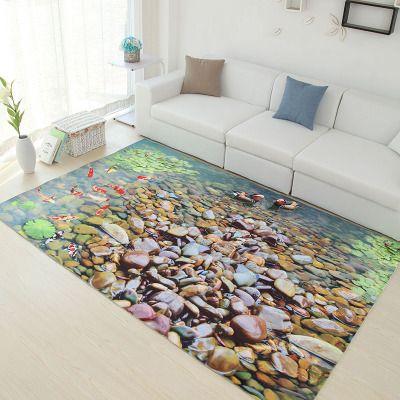 Preis überprüfen Mehrfarben 6mm ultradünne 3D teppich wohnzimmer