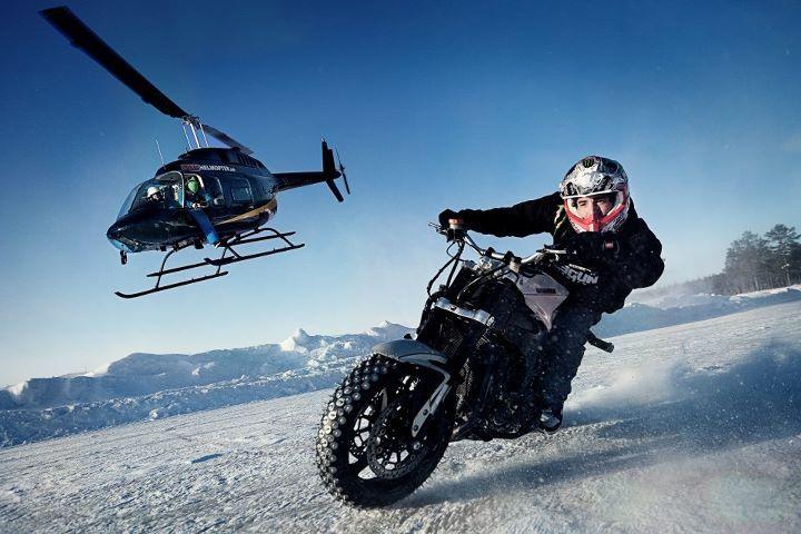 Jorian Ponomareff Stunt Rider Motorcycle Drifting Stunt Bike
