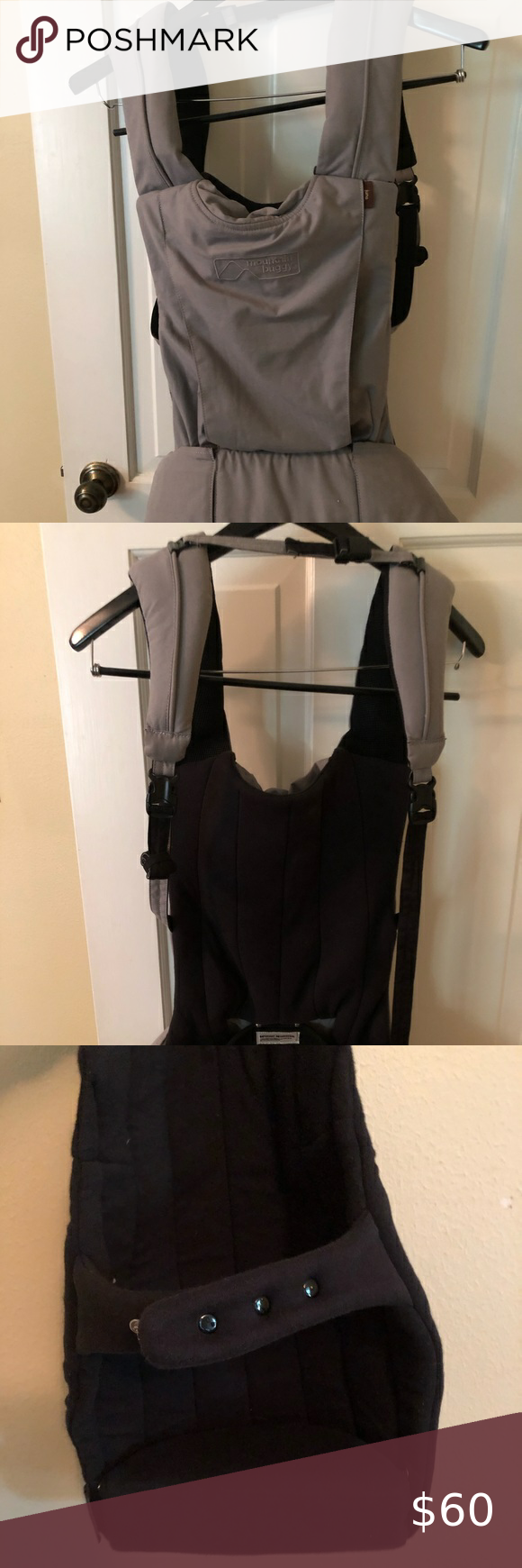 Baby Carrier Mountain Buggy Juno Charcoal Baby Carrier Mountain Buggy Buggy