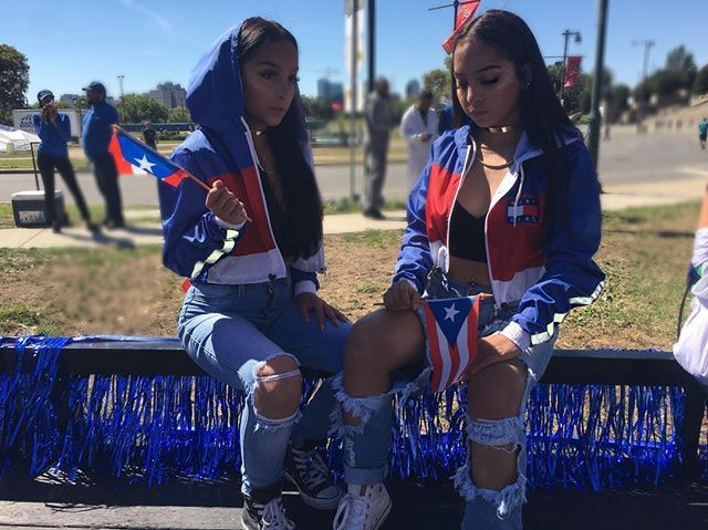 Puerto Rican Parade Apparel Siangie Twins Twin Outfits Baby
