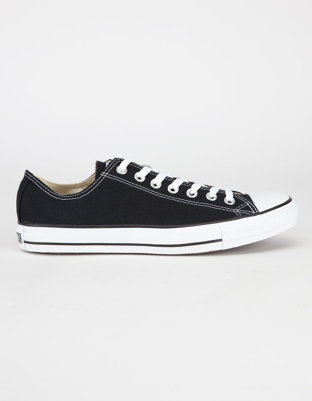 4843b77f1a Classic Chucks! Converse Chuck Taylor All Star Low shoes. Canvas upper.  Padded insole. Rubber toe cap. Vulcanized rubber outsole. Rubber Converse  All Star ...