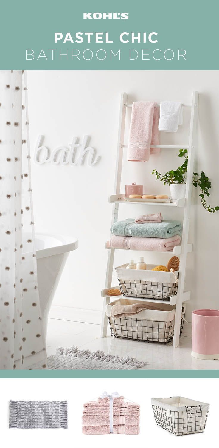Hit refresh on your bathroom for spring whether you want to create