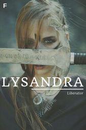 Baby Femal Girl Greek Liberator Lysandra Meaning Names Lysandra Meaning Liberator Greek Names L Baby Girl Names L Baby In 2020 Babynamen Weibliche Namen Namen