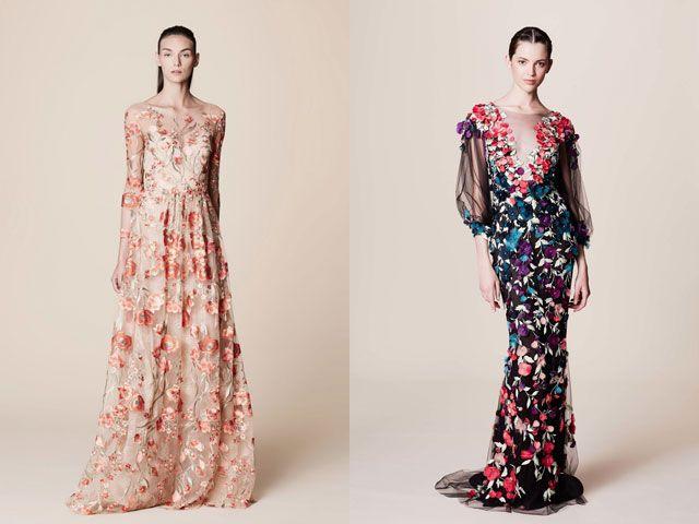 Длинные рукава платья мода