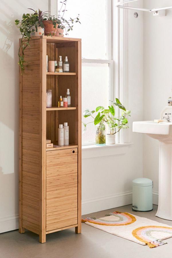 Silvia Bamboo Bathroom Storage Shelf Urban Outfitters Bathroomstorage Badezimmer Ideen Aufbewahrung Ablage Badezimmer Ideen Bambus Nel 2020 Bagno Idee Legno Mobili