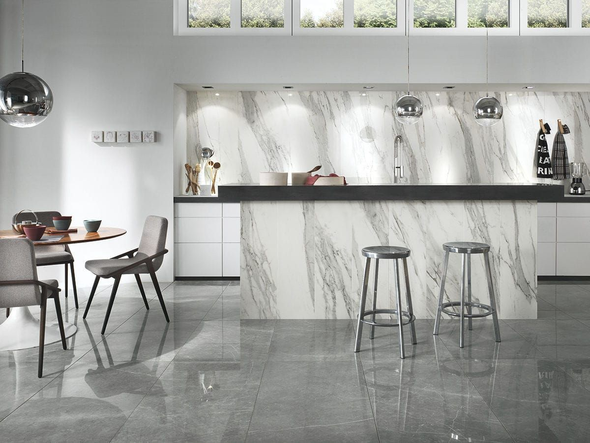 Novabell imperial calacatta bianco porcelain tile found at bullnose tile in san jose ca
