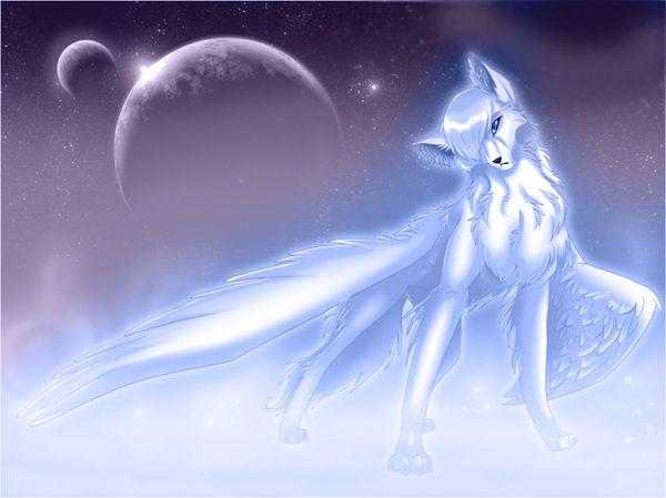 Any Anime Characters You Know Smokes Wolf Spirit Animal Anime