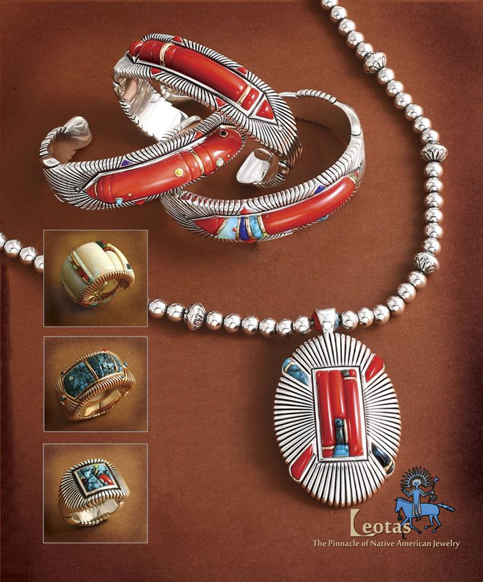 Leotas Native American Indian Jewelry Indian Turquoise Jewelry