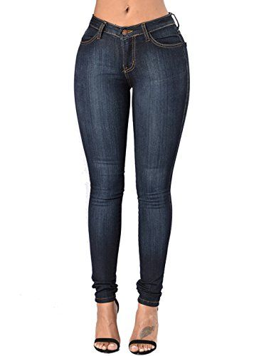 513688c0b13 Evensleaves Women s Skinny Jeans