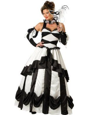 Plus Size Masquerade Costume & ... DressBall Gowns DressDebutante ...
