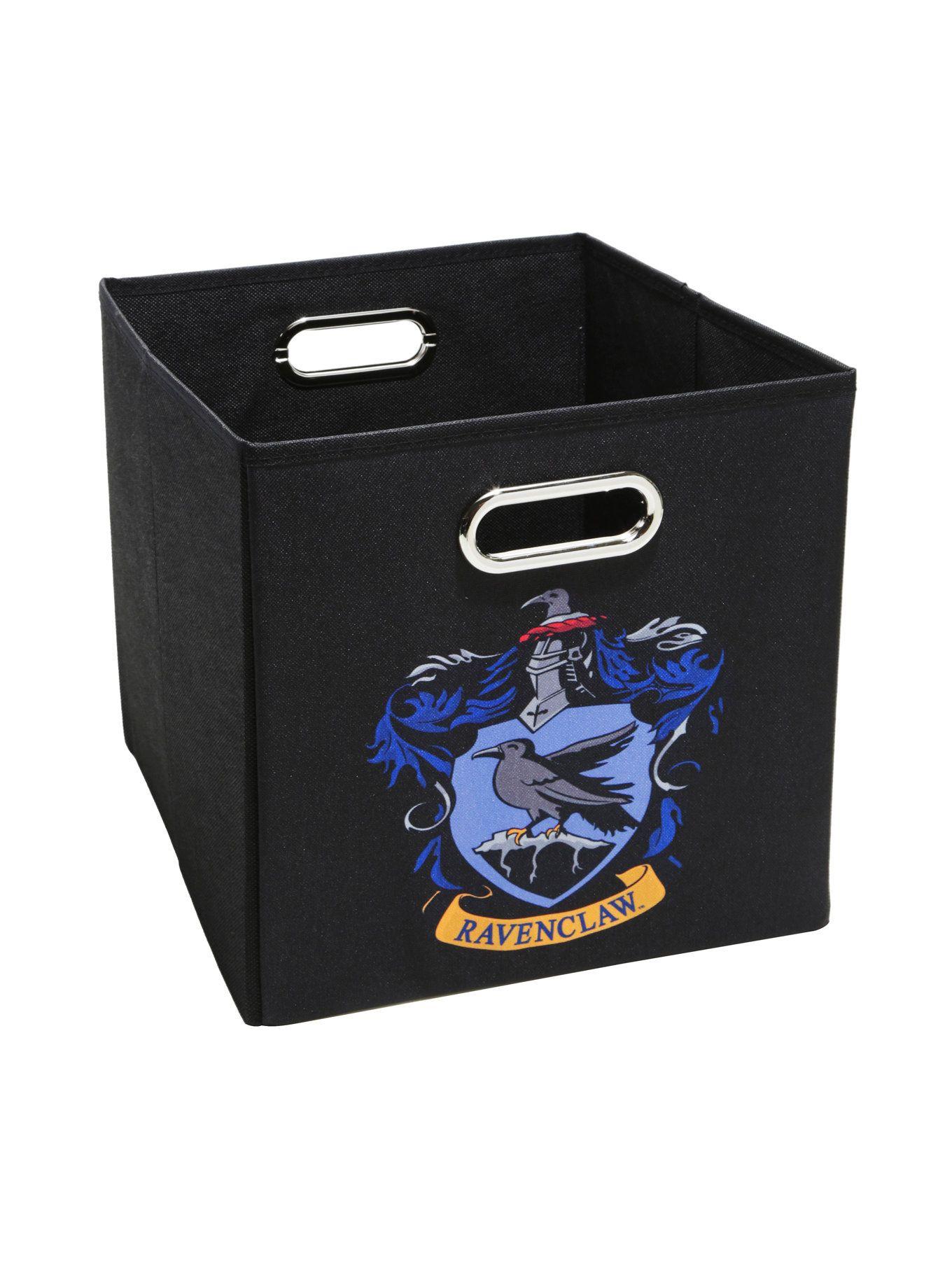 Harry Potter Ravenclaw Crest Small Storage Bin Harry Potter Ravenclaw Ravenclaw Harry Potter Logo