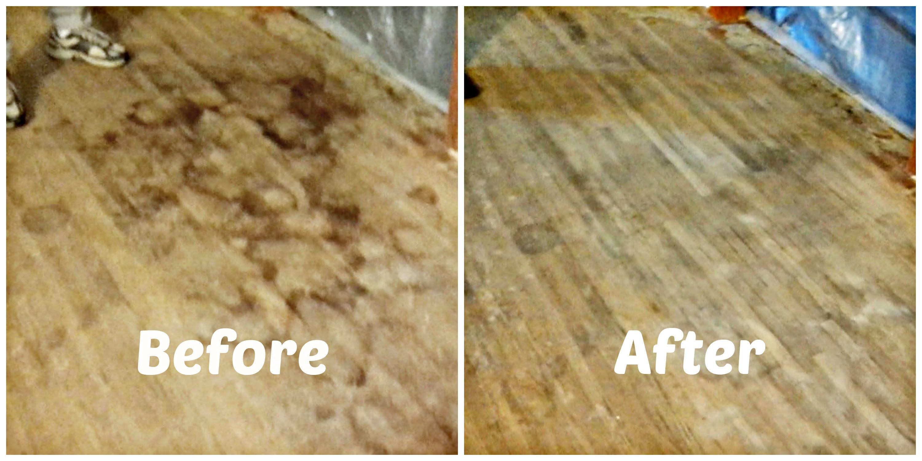 much wood to clean for how pin dark floors hardwood
