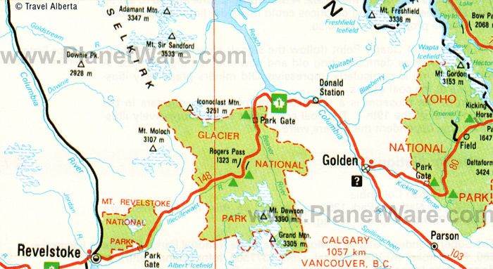 Glacier National Park Canada Map Pin by Ray Holm on Glacier NP | Glacier national park map, Glacier