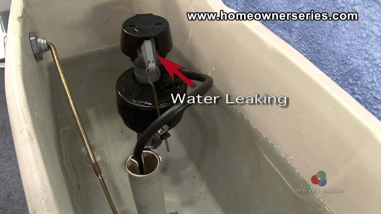 How to fix a leaky toilet