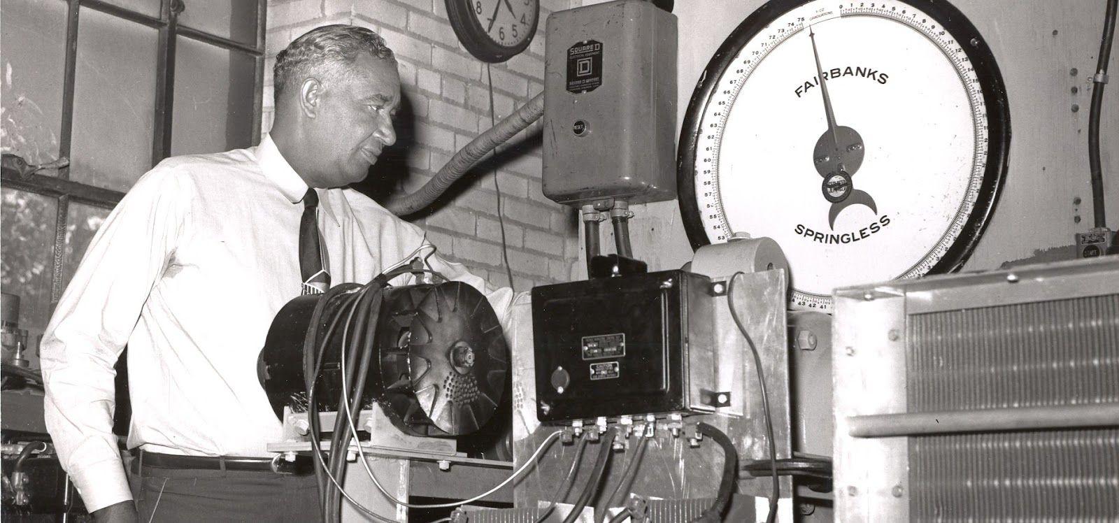 frederick m. jones: air condition unit 1949 | i am black