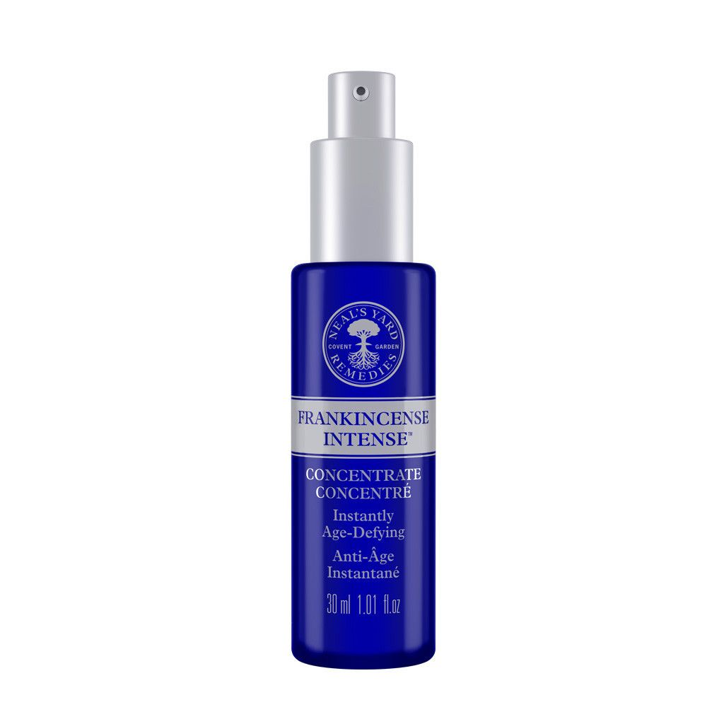 NEW Frankincense Intense Concentrate #aging #best-sellers #dry #moisturizers #normal. An anti-aging booster with our #organic argan oil, firming peptides and radiance enhancing turmeric!