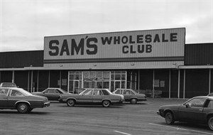 In The 1980s The First Sam S Club Opened Serving Small