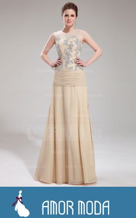 Evening Dress With Appliques Lace  at an affordable price of $158.99 #EveningDresses