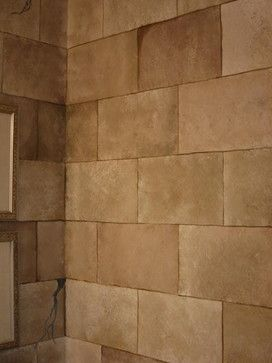 Faux Stone Wall Design Pictures Remodel Decor And Ideas Faux