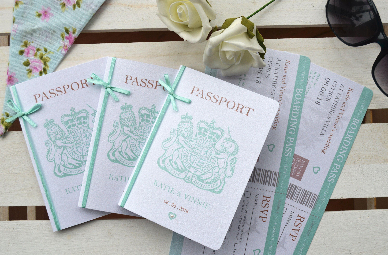 Luxury Bow Pearlescent Passport Wedding Invitation With Etsy Passport Wedding Invitations Passport Wedding Wedding Invitations