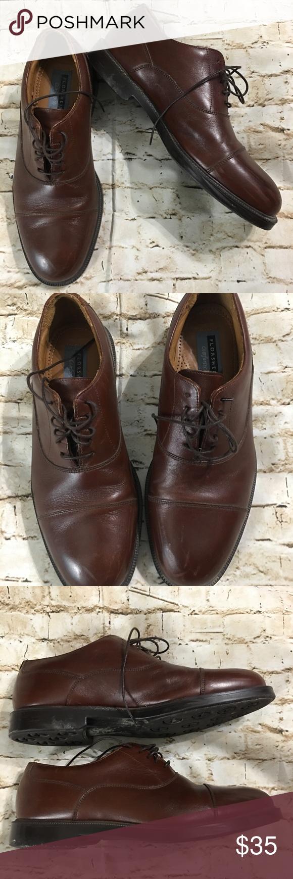 7900ee9365e Florsheim Comfortech Leather Dress Size Shoes 8.5M