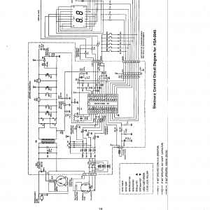 Wiring Diagram Ac Sharp Inverter Unique Sharp Air