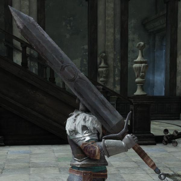 Pursuer Great Sword Dark Souls 2 Inspiration Great