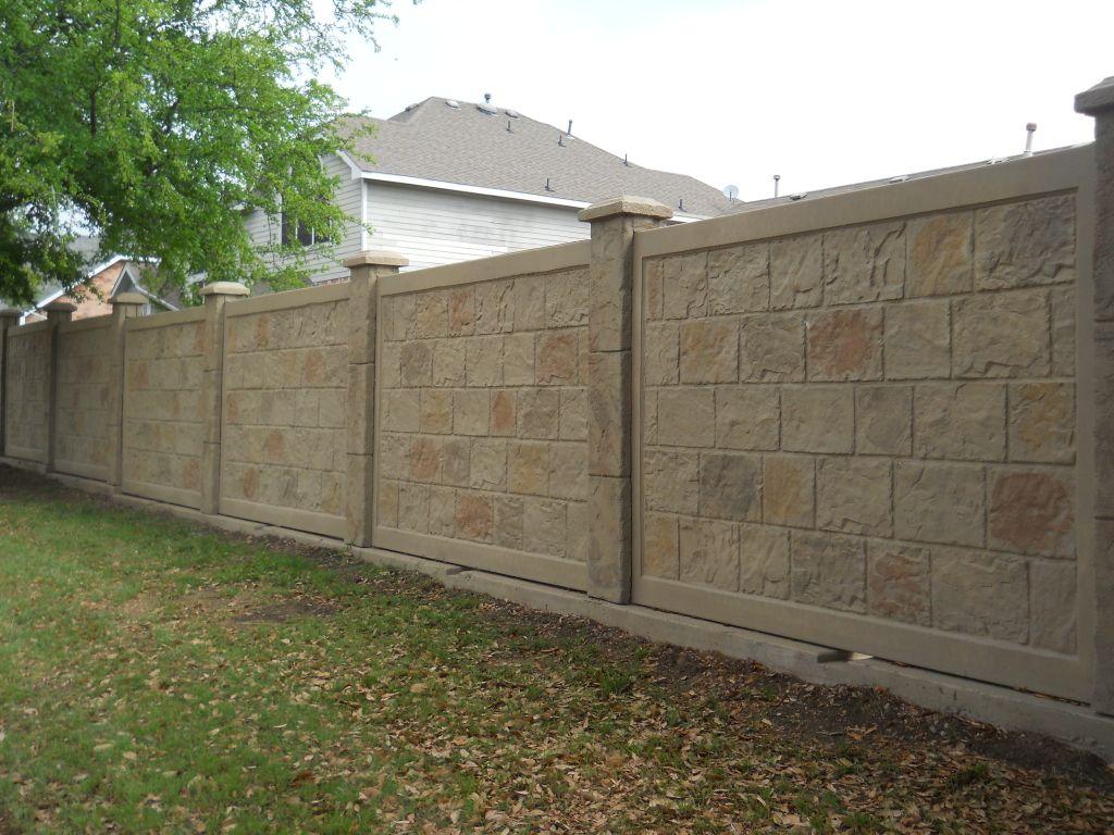 Precast Concrete Fencing Precast Concrete Concrete Fence Concrete Fence Wall
