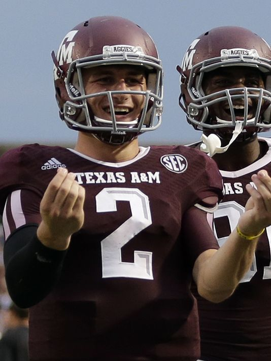 Silence From Johnny Manziel Except On The Football Field Johnny Manziel Football Football Helmets