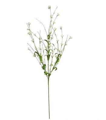 "Blooming Spring 29"" Mini Flower Spray-White"