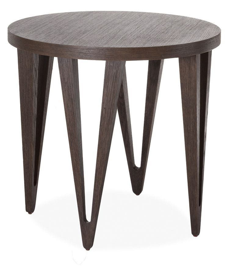 Brownstone Furniture Hudson Coffee End Tables End Tables Round Side Table Modern End Tables