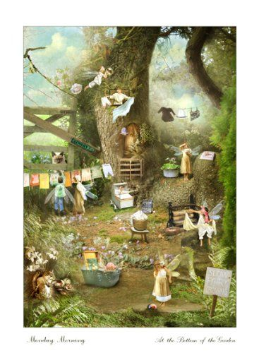 Kitchen wall art \'Monday Morning\' (Fine Art Fairy and Angel Prints ...