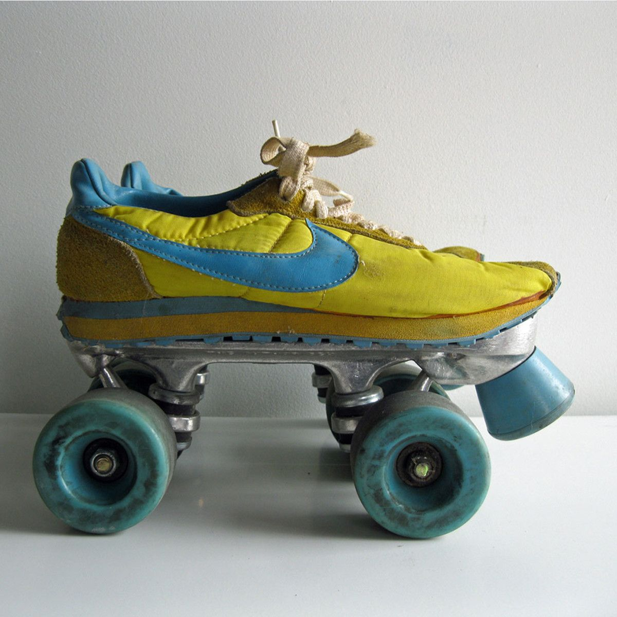 1970s Nike Sneaker Roller Skates...i had some generic form of these weird skates