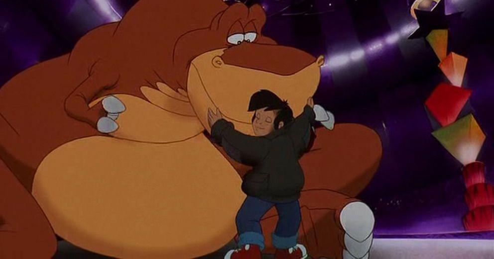 Rex got a nice hug from Louie. | My childhood, Dinosaur, Getting old